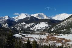 Rocky Mountain National Park is one of my favorite places in Colorado. I loved just standing and looking at the beautiful, snowy mountains. Such a cool place. Click the image to see more on my blog! :)