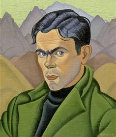 Rita Angus's portrait of Leo Bensemann presents a forceful young man with the striking looks of a film star. Light falls on his face, highlighting his features – the ruby red lips, rippling hair, and sweeping dark eyebrow. Bensemann is set against. Dark Eyebrows, New Zealand Art, Nz Art, Art World, Fine Art Prints, Illustration Art, Image, Leo, Portrait Paintings