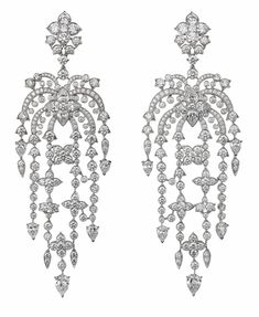 I want silver sparkly waterfall earrings!