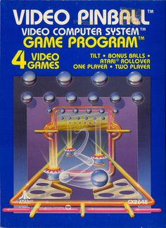 Released for the Atari 2600 video game console as Arcade Pinball in 1980, The game also features a unique rollover bonus with an Atari Inc. logo on the playfield; hitting the logo four times results in an extra ball.