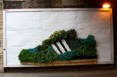 Guerrilla Gardening sponsored by Adidas