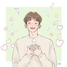 Kaisoo, Suho, Chanbaek, Exo Chen, Exo Anime, Exo Fan Art, Kpop Drawings, Kim Jongdae, Korean Boy