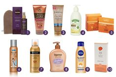 The Ten Best Drugstore Self-Tanners: What's that we see in the distance? Could it be summer in all of its glory, complete with weekend barbecues and days at the beach? To prepare, we suggest adding a great self-tanner to your to-buy list. If your likes include getting a healthy-looking glow and saving a few bucks without sacrificing quality, and your dislikes include harmful UV rays, burns and potential skin damage, these affordable drugstore self-tanners are for you. #rankandstyle