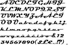 Fontscape Home > Period > Retro 60s Font, Retro Font, Hand Lettering Styles, Lettering Ideas, Emoji Design, Cursive Letters, Clever Design, Typography Fonts, Clip Art