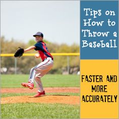 These tips on how to throw a baseball are safe and approved by coaches.
