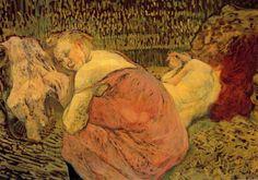 Women Resting Henri de Toulouse-Lautrec