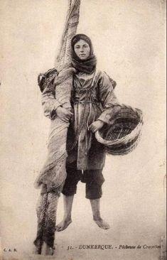 Pêcheuse de crevettes de Dunkerque