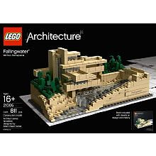 Awesome. FLW falling water Legos!