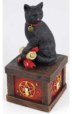 Magical Cat Wishing Box $18.95