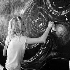 Emilia Rubæk, streetartist DK