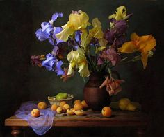 Bodegón de fores, una verdadera belleza de pintura, Renoir.