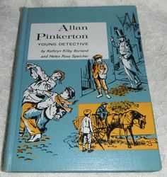 Allan Pinkerton Young Detective by Kathryn by Starrylitvintage