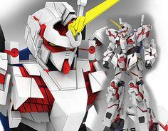 "Check out new work on my @Behance portfolio: ""Gundam Unicorn for Gundam Collab BR"" http://on.be.net/1I0F4vC"