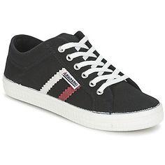 klassieke Kawasaki tennis basic heren sneakers (Zwart)