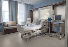 Opus   Nurture by Steelcase – Healthcare Furniture.  The product would be really lovely in a partum suite.  Med gases on the side of the headwall are a great way to minimize the look of clutter
