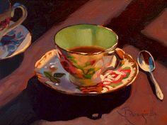 Larry Bracegirdle ~ Tea in the Sunroom