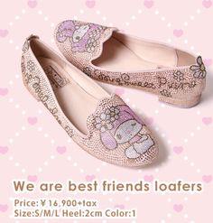 #MyMelody X RANDA limited edition slippers (*^_^*)