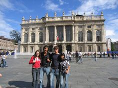 Piazza Castello, Turin, Italy (USAC travelers) - The Budget-Minded Traveler