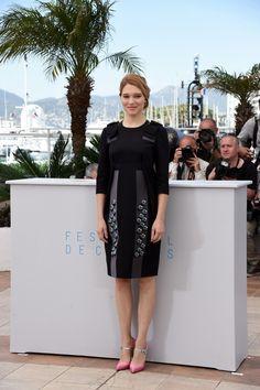 Lea Seydoux wearing Prada | Cannes Film Festival | 2015