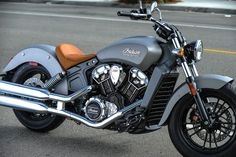 Indian Motorcycle unveils the 2015 Indian Scout starting at $10,999. Shown in Silver Smoke finish.