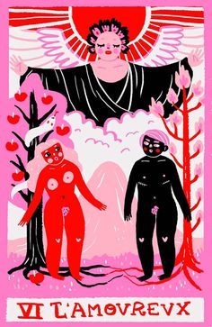 The Lovers Tarot Card Meaning: Love, Health, Money & The Lovers Tarot Card, Major Arcana Cards, The Hierophant, Rider Waite Tarot, Pagan Art, Tarot Card Meanings, Tarot Card Decks, Tarot Readers, Poster