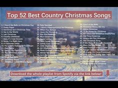 Christmas Songs Playlist, Favorite Christmas Songs, Free Christmas Music, Christmas Albums, Country Christmas, White Christmas, Christmas Home, Gaither Gospel, Music Converter