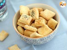 Biscuits apéritif faits maison