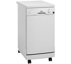 """18"""" dishwasher, all apartments should have one. this one's by Danby"""