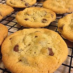 Get a glass of cold milk ready! This has been my favorite chocolate chip cookie recipe of all time, found in a Betty Crocker cookbook years ago. Once I made it for my HS Latin class and it became a class tradition and a family favorite...Thank you, Betty!