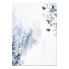 Vintage Flowers Wallpaper, Flower Background Wallpaper, Flower Backgrounds, Engagement Party Invitations, Bridal Shower Invitations, Mini Canvas Art, Flower Frame, Dusty Blue, Prints