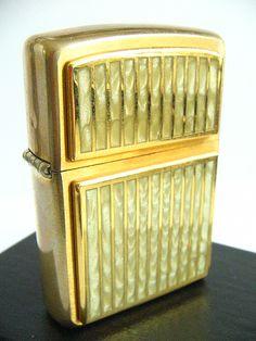 White Marble Zippo Lighter