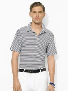 RLX Golf - Classic-Fit Striped Polo