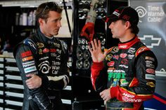 Jeff Gordon Kasey Kahne Photos: Charlotte Motor Speedway - Day 1