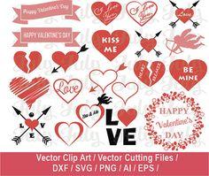 Valentine SVG / Valentine Clip art / Heart by JulyDigitalImages