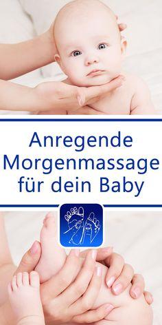 Lass dir diese Massageanleitung von unserer App für das iPhone und iPad (iOS) sowie für Android-Geräte vorlesen. Du kannst dich so vollständig deinem Baby widmen!  1.  Auf den Rücken  Lege dein Baby auf den Rücken.  2. Gebetbuch  Halte den Kopf deines Babys so in deinen Händen, als ob es sich dabei um ein Gebetbuch handelte.
