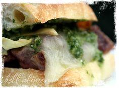 Gaucho Steak Sandwich with Chimichurri Sauce