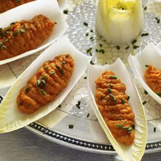 Carrot Cups Recipe from Good Housekeeping - maybe an appetizer for a dinner in early autumn