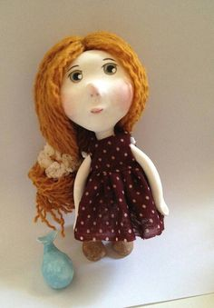 Hey, I found this really awesome Etsy listing at https://www.etsy.com/listing/210253393/jenny-handmade-paper-clay-art-doll
