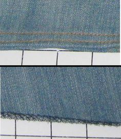Complete Step by Step Directions to ChangeJeans in to a Jeans Skirt