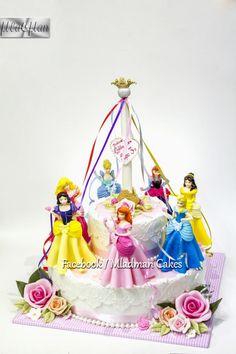 Disney Princess Cake - Cake by MLADMAN