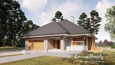 Projekt domu Selene VIII 115,60 m² - Domowe Klimaty Modern House Design, Gazebo, House Plans, Outdoor Structures, How To Plan, Outdoor Decor, Home Decor, Houses, Home Colors