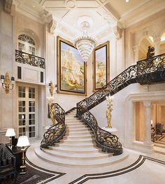 A Cinderlla staircase