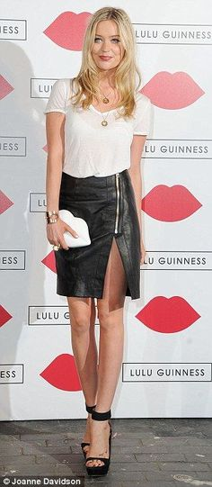 Laura Whitmore - effortless style icon, this is just one of her numerous successful looks.