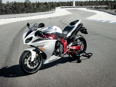 """""""that's a lot of bike for you, girl"""" lol!   Yamaha R1"""