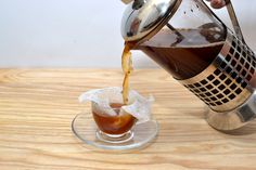 wikiHow to Make Espresso Beverages With a French Press -- via wikiHow.com