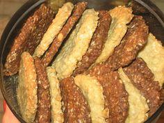 Ciasteczka owsiano - jaglano - gryczane. Dwie wersje.
