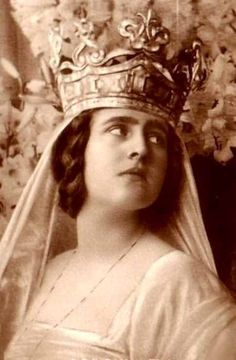 Elisabeth of Romania, wife of George II of Greece.