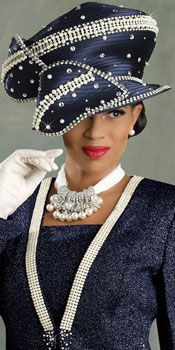 The fashion of African-American women and church hats.