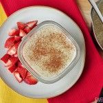 Quinoa Pudding ~ dariy-free treat featuring superfoods quinoa and coconut milk; tastes like a cross between rice pudding and tapioca | {Five...