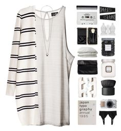 """ALMOND X COCONUT"" by emmas-fashion-diary ❤ liked on Polyvore featuring Cheap Monday, Topshop, Nelly, Monki, Laura Mercier, NARS Cosmetics, Nimbus, Threshold, Three Hands and CASSETTE"